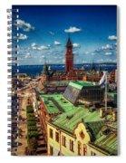 City Of Helsingborg Spiral Notebook