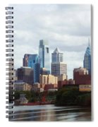 City Of Philadelphia Spiral Notebook