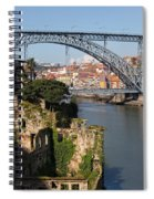 City Of Porto In Portugal Picturesque Scenery Spiral Notebook