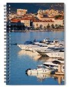 City Of Split In Croatia Spiral Notebook