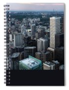 City Of Toronto Downtown Spiral Notebook