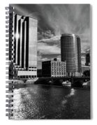 City On The Grand Spiral Notebook