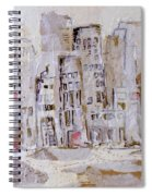 City On The River  Spiral Notebook