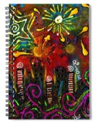 City On The Rocks Spiral Notebook
