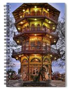 City Park Pagoda Spiral Notebook