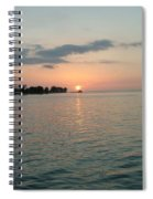 City Pier Holmes Beach Bradenton Florida Spiral Notebook