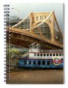 City - Pittsburg Pa - Great Memories Spiral Notebook
