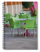 City Place Seats Spiral Notebook