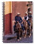 City Riding Spiral Notebook