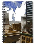 City Skies Spiral Notebook