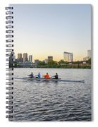 City Skyline - Philadelphia On The Schuylkill River Spiral Notebook