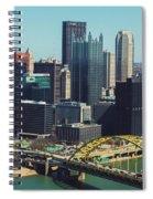 City Skyline-pittsburg Spiral Notebook
