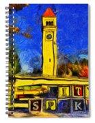 City Spokane - Riverfront Park Spiral Notebook