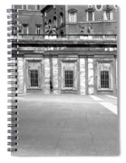 City Square Vintage Black And White  Spiral Notebook