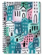 City Stories- Church On The Hill Spiral Notebook