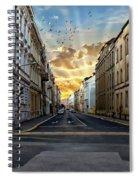 City Street View Spiral Notebook