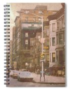 City Streets In Grunge 2 Spiral Notebook
