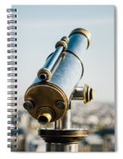 City Telescope Spiral Notebook