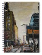 City With Barrels Spiral Notebook