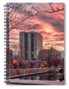 Citygarden Gateway Mall St Louis Mo Dsc01485 Spiral Notebook