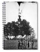 Civil War: Balloon, 1862 Spiral Notebook