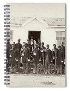 Civil War: Band, 1865 Spiral Notebook