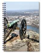 Civil War Cannon Spiral Notebook