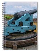 Civil War Cannon Spiral Notebook