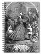 Civil War: Christmas Spiral Notebook