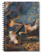 Civil War: Fort Sumter 1861 Spiral Notebook