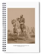 Civil War General James Garfield Spiral Notebook