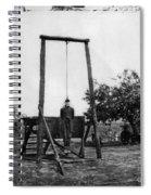 Civil War: Hanging, 1864 Spiral Notebook