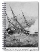 Civil War: Merrimac (1862) Spiral Notebook