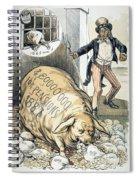 Civil War Pensions, 1888 Spiral Notebook