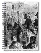 Civil War: Prisoner, 1864 Spiral Notebook
