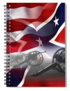 Civil War Silent Cannons Spiral Notebook
