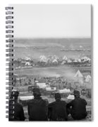 Civil War: Union Camp, 1862 Spiral Notebook