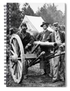 Civil War: Union Officers Spiral Notebook