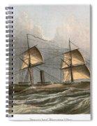 Civil War: Uss Kearsarge Spiral Notebook