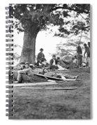 Civil War: Wounded Spiral Notebook