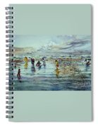 Clamdigging Family Spiral Notebook