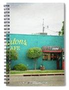 Clanton's Cafe Spiral Notebook