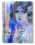 Clara Bow I'll See You In New York Spiral Notebook