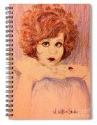 Clara, Redhead Spiral Notebook