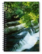 Clare Glens, Co Clare, Ireland Spiral Notebook