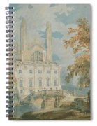 Clare Hall And Kings College Chapel, Cambridge  Spiral Notebook