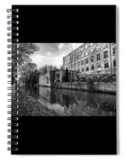 Clarence Mill, Bollington, England Spiral Notebook