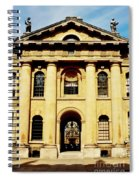 Clarendon Building, Broad Street, Oxford Spiral Notebook