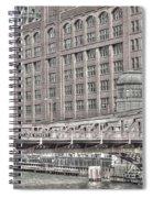 Clark Street Bridge Spiral Notebook