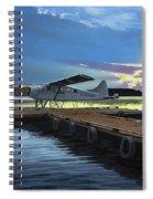 Clark's Air Service Spiral Notebook